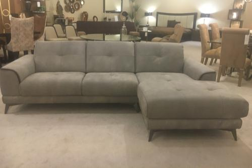 2 Pc. Leather Sectional