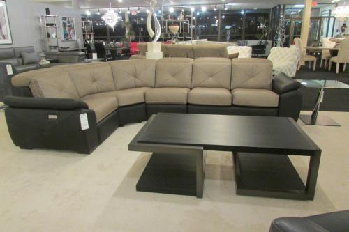 4 Pc. Leather Sectional With Motion