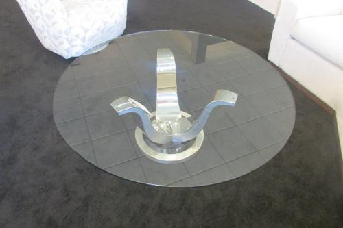 New! Glass Cocktail Table