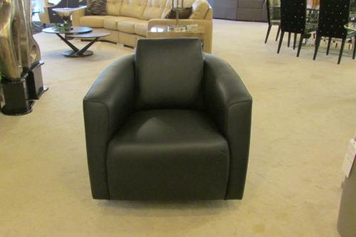 Swivel Rocker Leather Chair