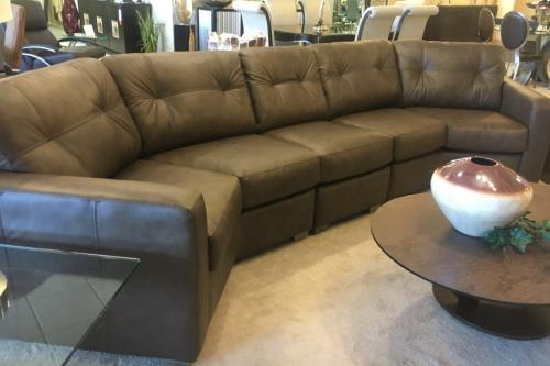 3 Pc. Leather Sectional