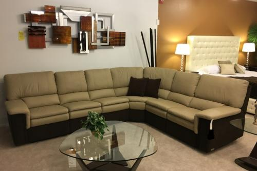 3 Pc. Sectional With Recliners