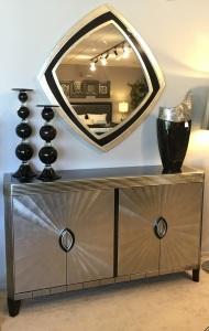 Cabinet & Mirror