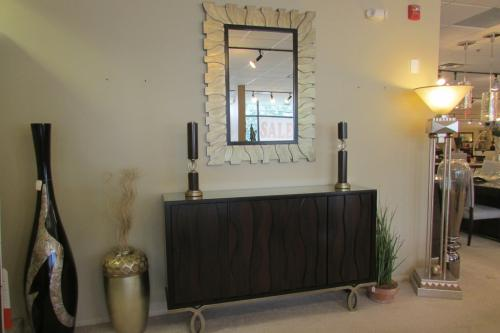 Custom Cabinet & Mirror