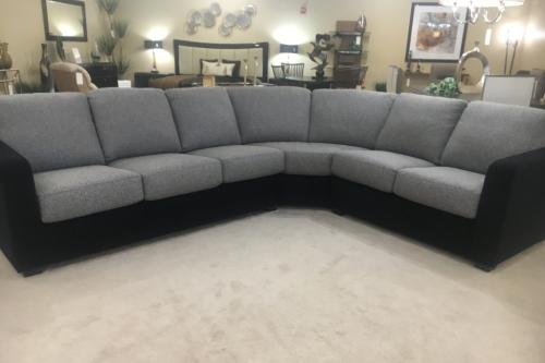 3 Pc. Sectional In Combination Fabric