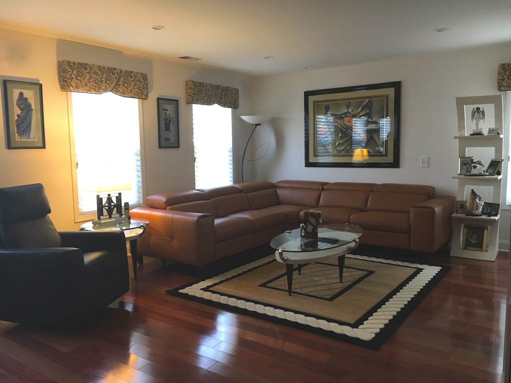 Family Room Designed By Sheryl Rothman