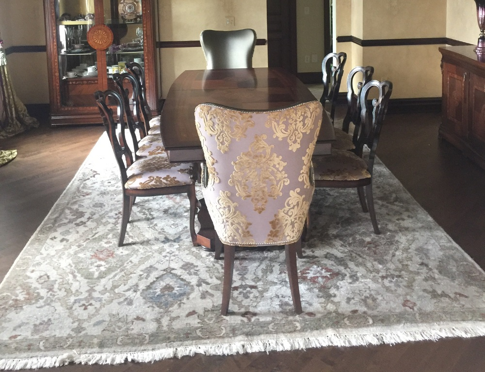 Traditional Dining Room Designed By Simonne Pojawa