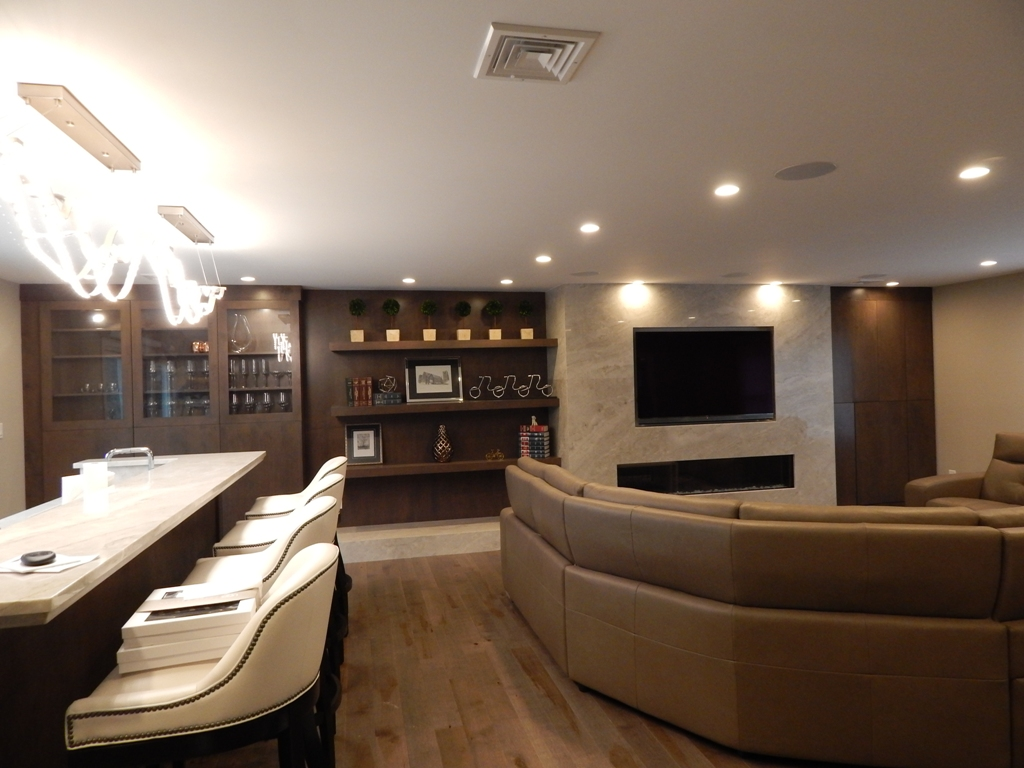 Great Room Renovation by Bob Berry