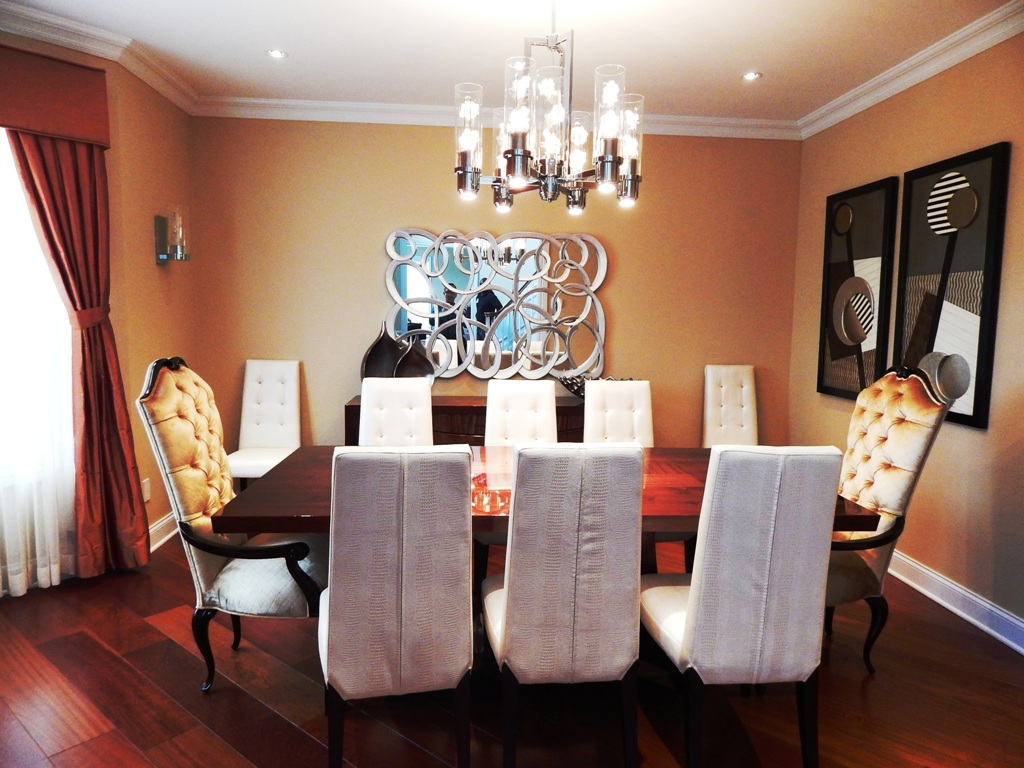 Dining Room Designed By Bob Berry