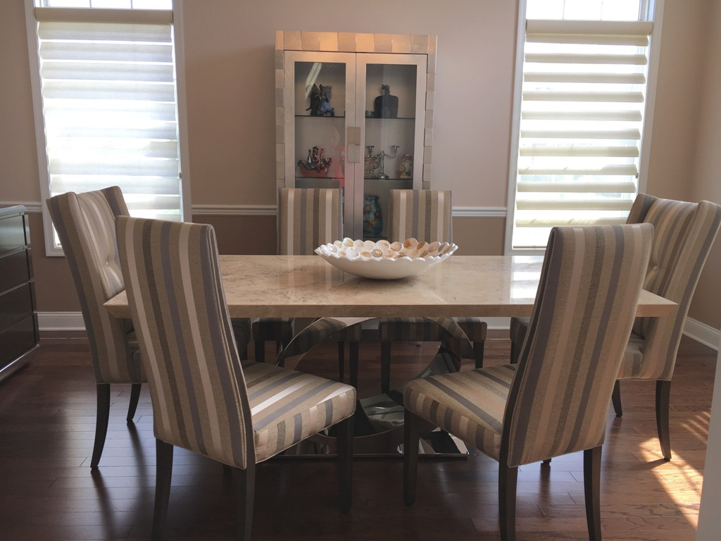 Dining Room Designed By Sheryl Rothman