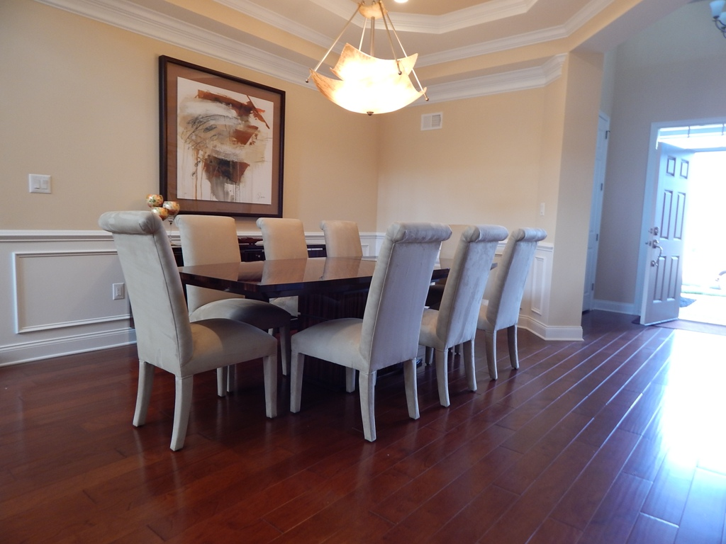 Dining Room And Kitchen Designed By Bob Berry