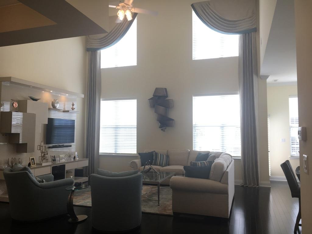Custom Window Treatments Designed By Sheryl Rothman